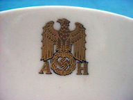 Allach Hitler Dinnerware Porcelain