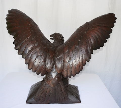 Carved Wooden Eagle