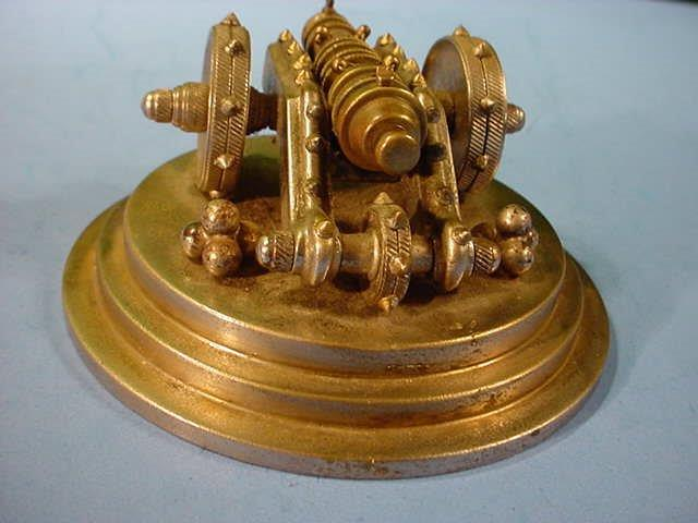 Miniature bronze cannon