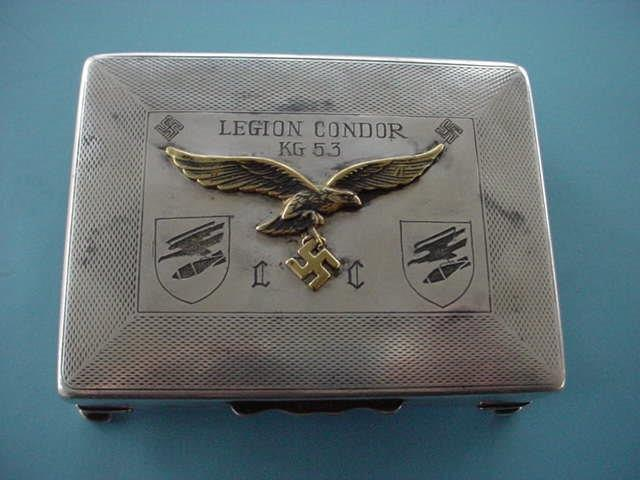 Condor Legion Cigarette Case