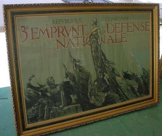 Paris War Poster