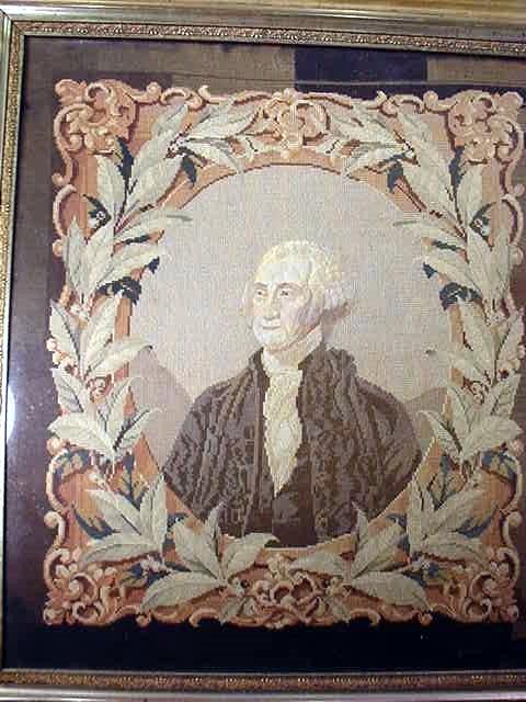 Needlepoint George Washington