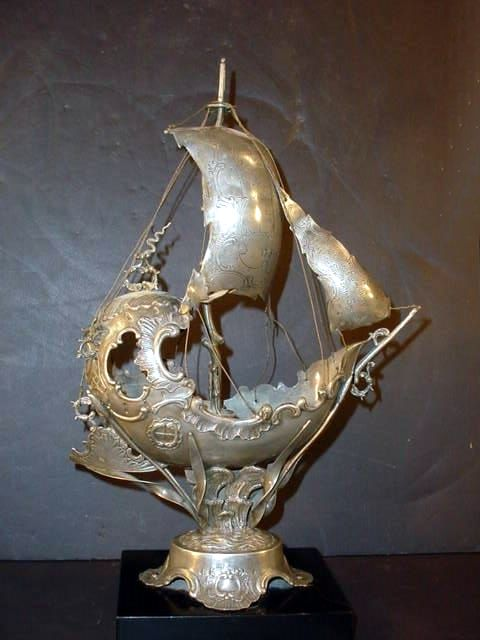 Pewter Ship