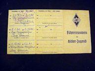 Hitler Youth Card