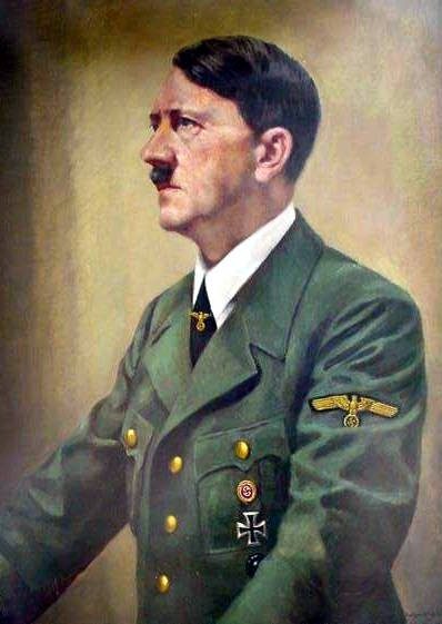 Water Color of Hitler