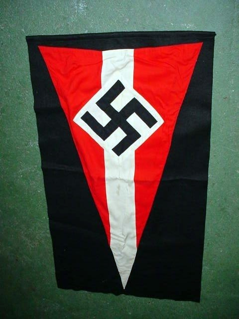 Hitler Youth Podium Banner