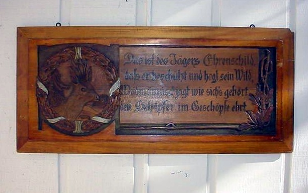 Hunter's Plaque