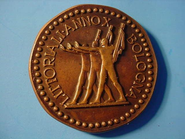 Mussolini Medallion