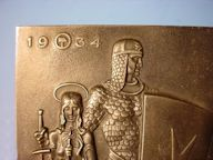 Plaque of Teutonic Knight