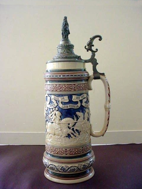 Jousting Knight Beer Stein