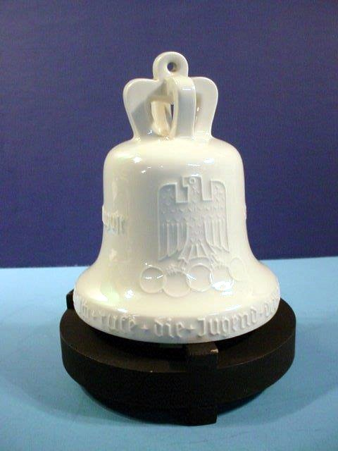 Porcelain Bell of 1939 Olympics