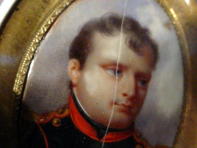 Painting of Napoleon