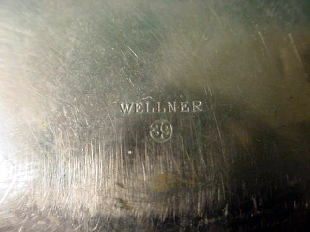 Reich's Chancellery Silver Serving Platter