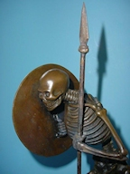 Bronze Skeleton Warrior