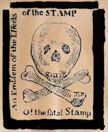 Stamp Act Sculpture