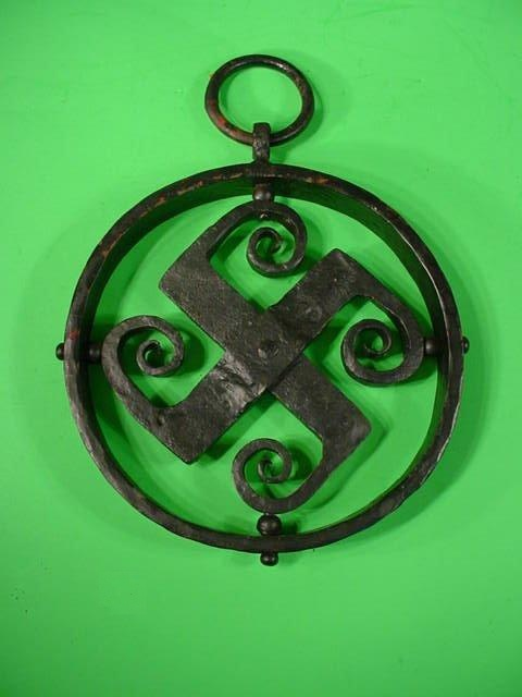 Wrought-Iron Swastika