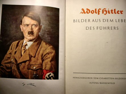 an analysis of he book by adolf hitler Hitler as he believes himself to be at the time of the reoccupation of the rhineland, hitler made use of an extraordinary figure of speech in describing his own conduct.