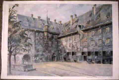 Watercolor by Adolf Hitler