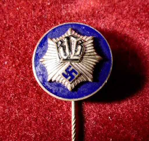 German Jewelry In The Form Of Stickpins And Lapel Pins