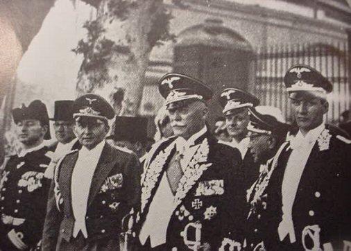 uniform diplomaten reich