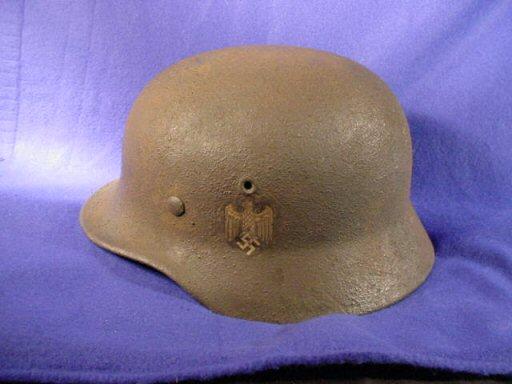Third Reich Refurbished Helmets
