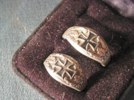 these rings are rare today but as a set almost impossible to find they are a charming and historically important addition to any good wwi collection