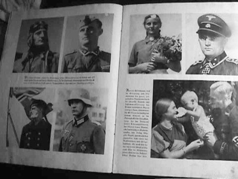 SS School Office Book, WWII (Racial Comparisons) (Item SS 10-3)
