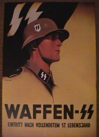 Waffen SS Recruiting Poster
