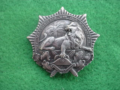 Colonial Memorium Badge
