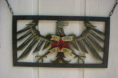 Hitler Youth Gate Sign