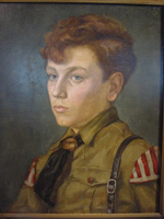 Hitler Youth Musician Portrait