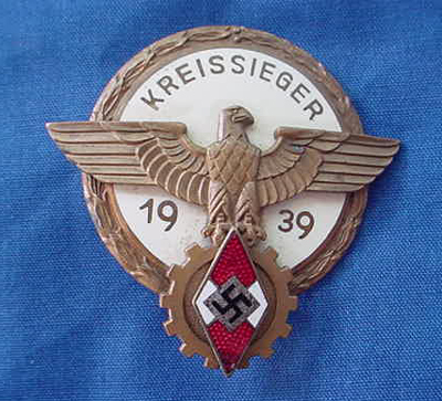 Kreisseiger Badge 1939