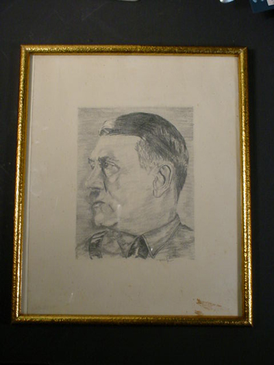 Hitler Pencil Drawing