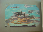 Japanese Postcard Album