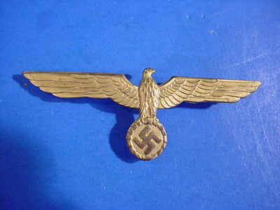 Kreigsmarine Gold Breast Eagle