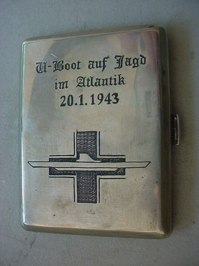 UBoat Cigarette Case