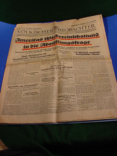 NSDAP Newspaper
