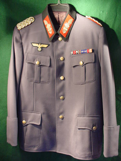 German General's Recreated Uniform