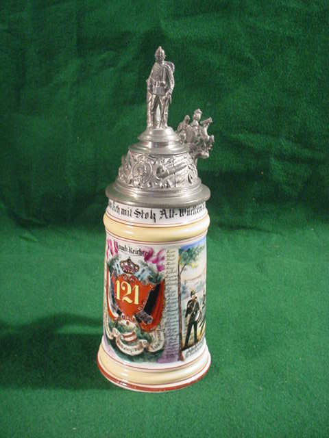 Military Regimental Beer Steins