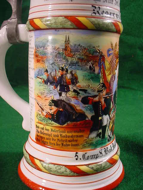 German Naval Beer Mug