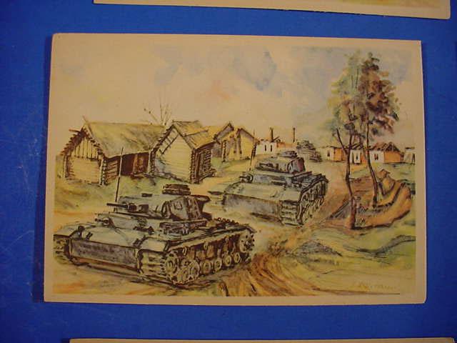 Рисунки с танками на войне