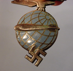 Zeppelin Officer Cap Badge