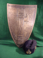 Fascist Bronze Shield