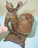Unique Soldier Ashtray