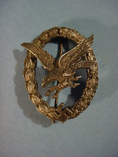 Radio Operator Gunner Badge