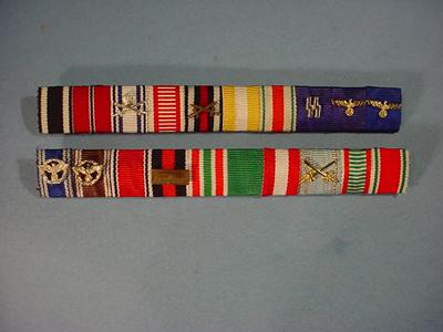 Reconstructed Medal Ribbon Bars