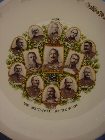 German Leaders Plate