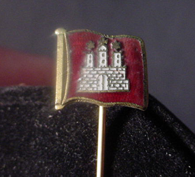 Hamburg Stickpin