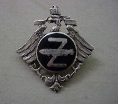 Imperial Zeppelin Pin