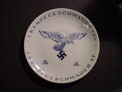 Luftwaffe Commemorative Plate